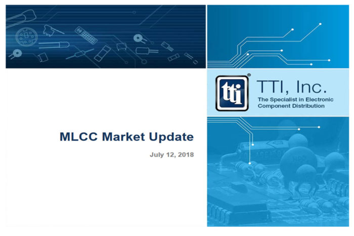 TTI MLCC Market Update and Action Plan