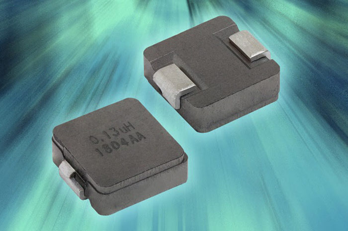 Vishay High Temperature IHSR Inductor Offers Higher Current Density for Multi-Phase Power Supplies