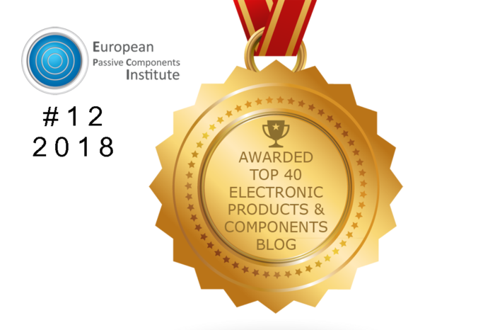 EPCI Ranked #12 Among the Top 40 Electronic Products and Components Blogs To Follow in 2018