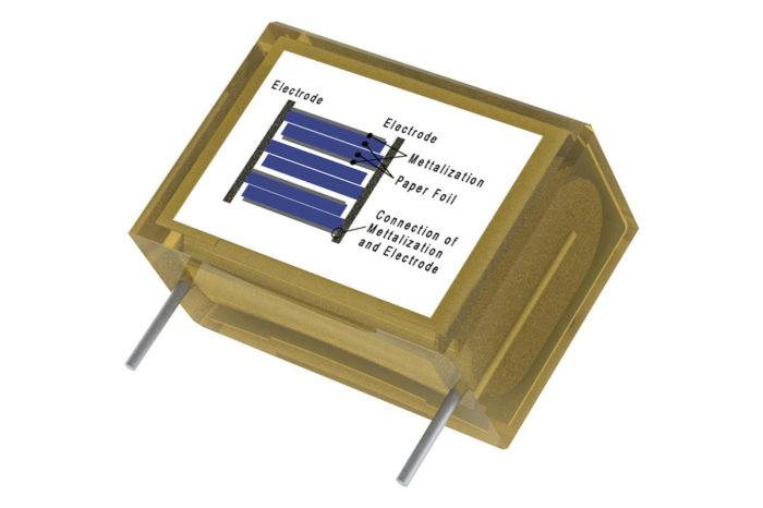 Capacitors - Paper Capacitors