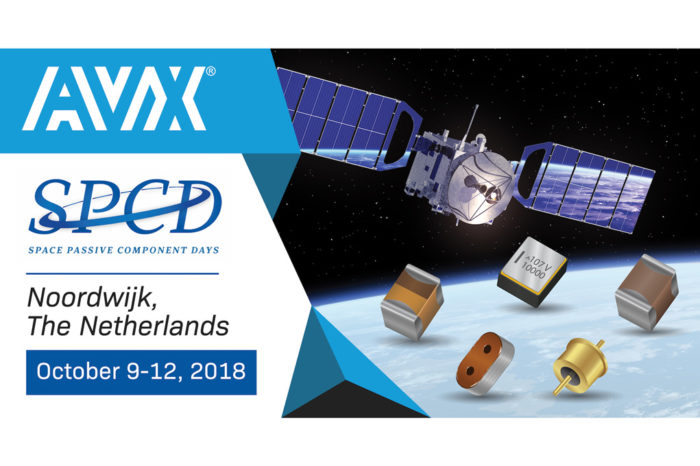 AVX is Exhibiting & Presenting at the 2018 Space Passive Component Days International Symposium