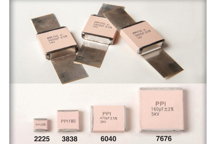 PPI MLCC Capacitors with Increased Operating Temperature