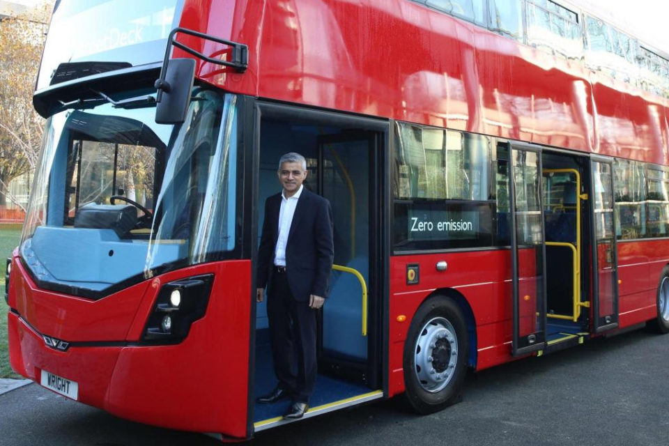 Graphene-Based Ultracapacitors Boost Double and Single Decker-Buses Through Low Emission Zones by Reducing Fuel Consumption