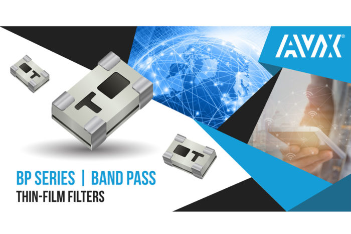 AVX Introducing the New Ultraminiature, High-Frequency Integrated Thin Film Band-Pass Filters