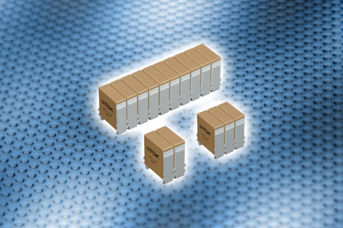 TDK CeraLink® high ripple current capacitors for power electronics