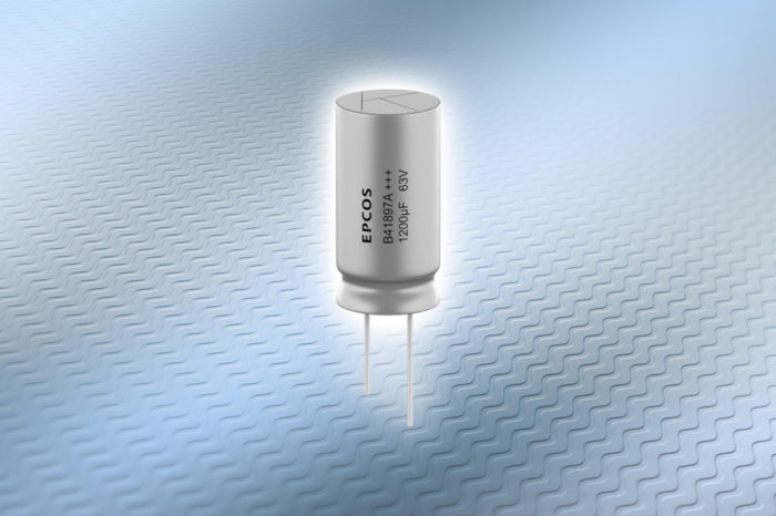 TDK introduces high current aluminum electrolytic capacitors