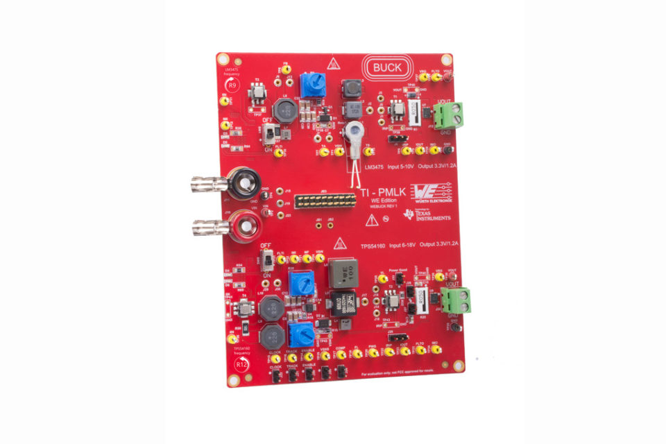 Würth Elektronik eiSos introduces learning kit to study magnetics in power supply
