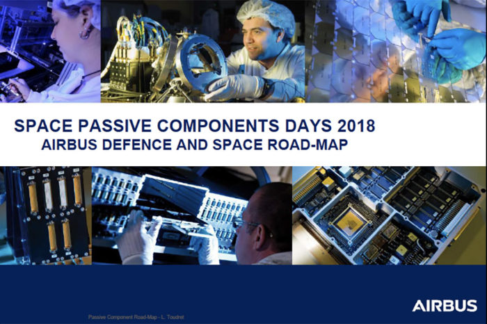Airbus Defence and Space Roadmap for Passive Components