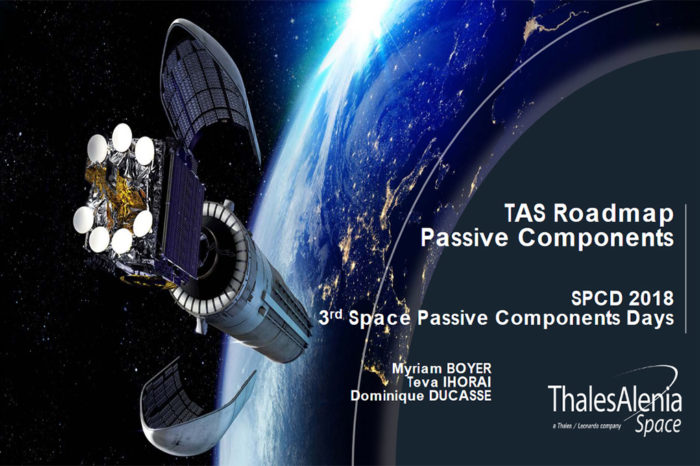 Thales Alenia Space Passive Components Roadmap 2018
