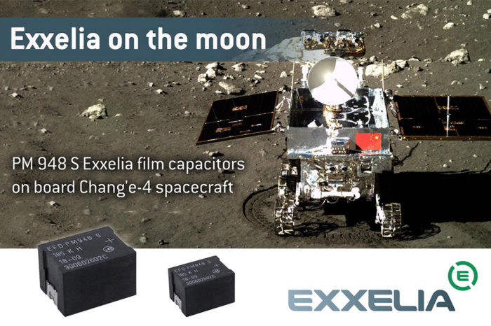 Exxelia on the far side of the moon