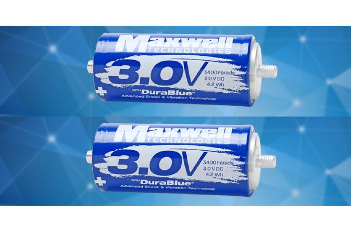 Maxwell Technologies Launches New 3-Volt Supercapacitors for Full Range of Market Applications