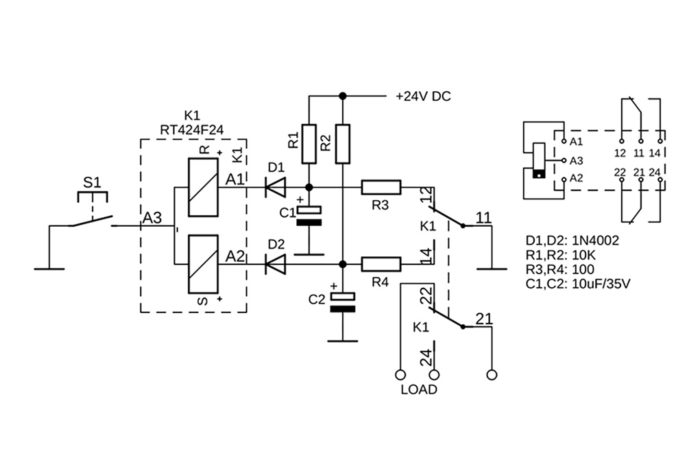 Impulse-Controlled Sequential Switch Without Active Electronics