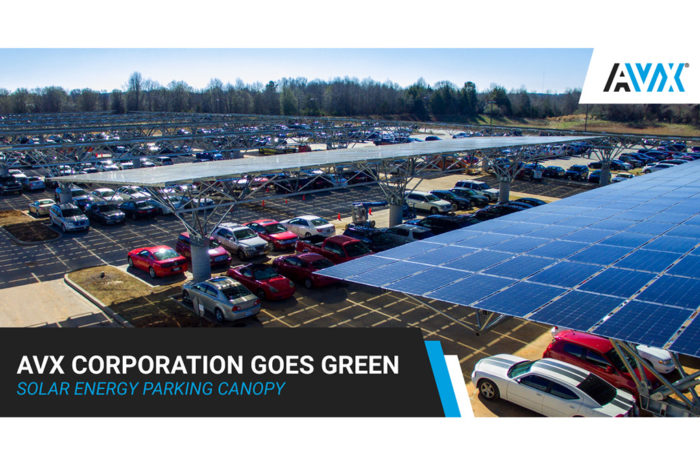 AVX Corporate Headquarters Goes Green
