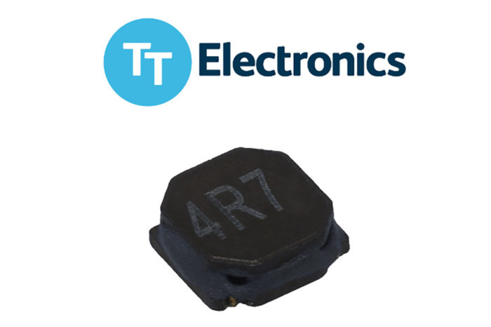 TT Electronics releases miniature low-profile power inductors dedicated to high-density DC/DC converters