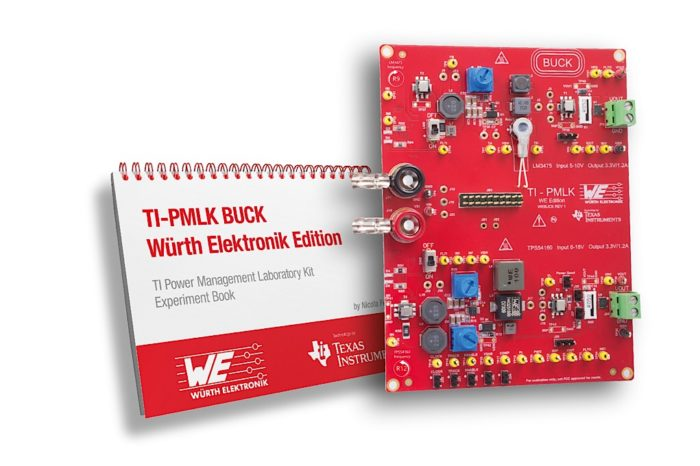 Würth Elektronik and Texas Instruments introducing Inductors learning kit at APEC 2019