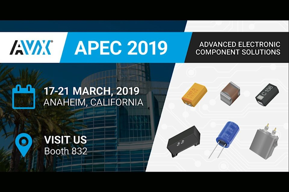 AVX Is Presenting & Exhibiting at APEC 2019 – European