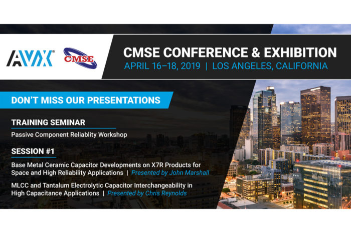 AVX Is Presenting & Exhibiting at CMSE 2019