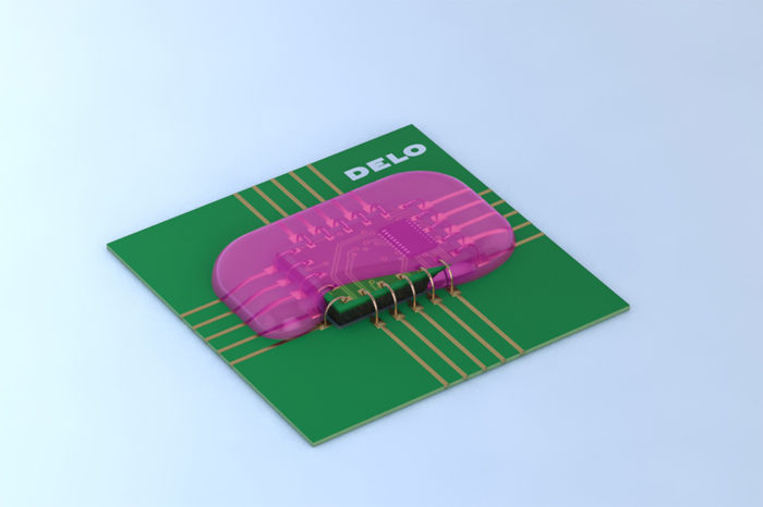 DELO High-Temperature-Resistant Encapsulant for Electronic Components