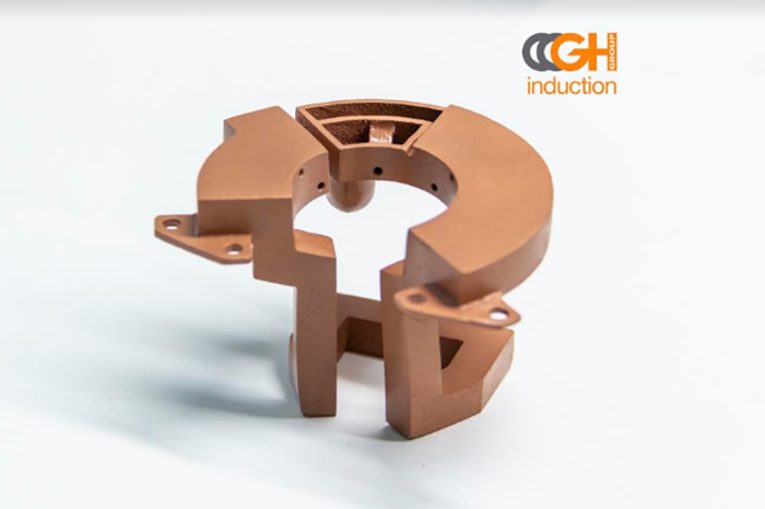 GH Induction Group Introduces New Service for 3D Printed Copper Coils & Inductors