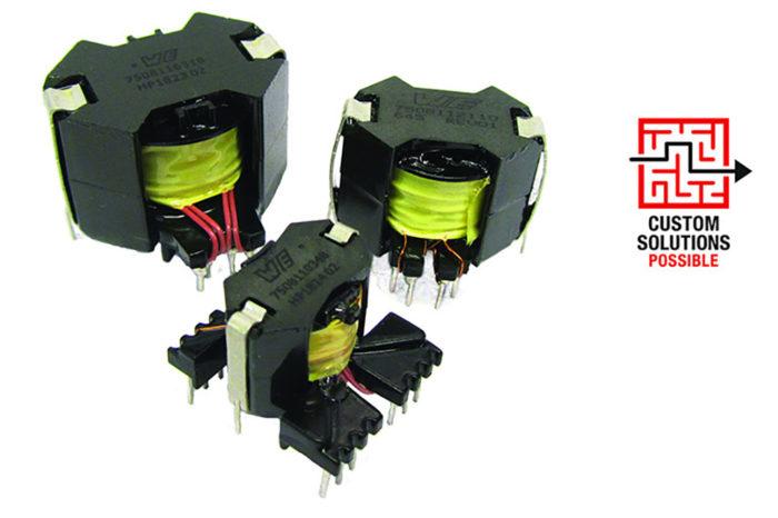 Würth Elektronik Adding an Extension Rail to RM Transformers