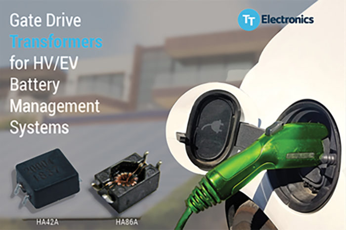 TT Electronics Introduces Gate Drive Transformers for Demanding Battery Management Systems