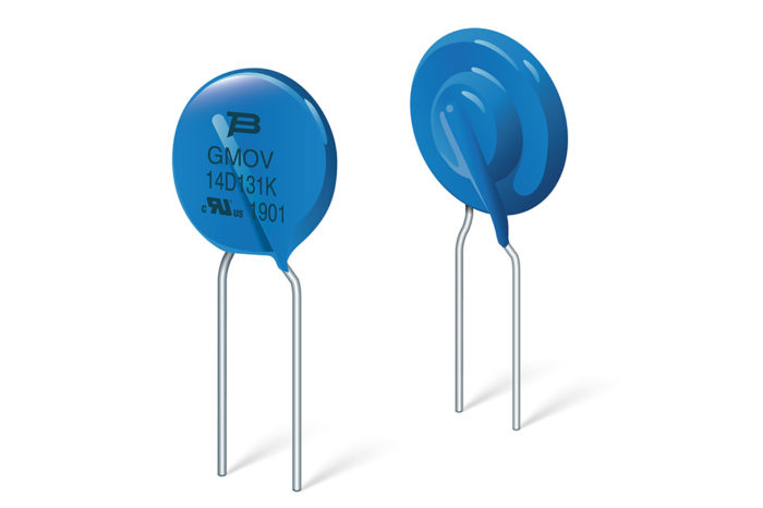Bourns Introduces GMOV™ Varistor Overvoltage Protection for Improved Reliability and Safety