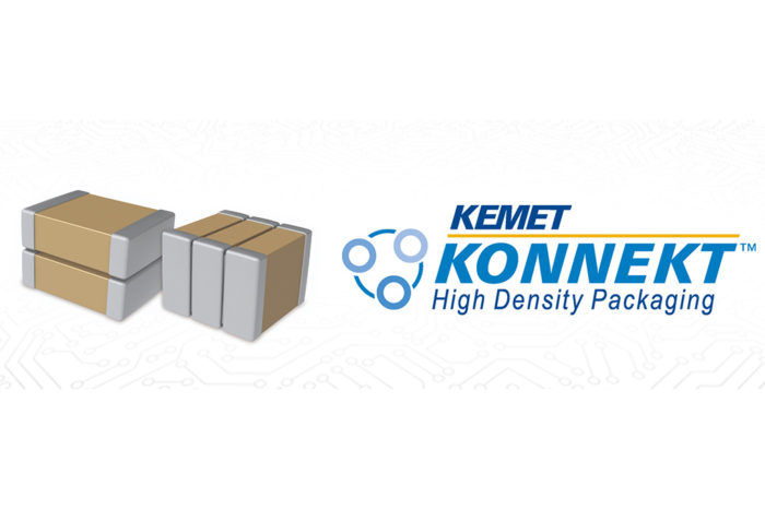 Kemet's KONNEKT MLCC Stacking Package is Minimizing the Footprint while Maximizing the Capacitance