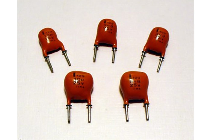 Capacitors - Solid Aluminum Electrolytics with Manganese Dioxide (obsolete)