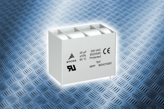 TDK Rugged AC Film Capacitors with UL 810 Approval