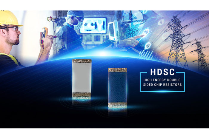 TT Electronics Introduces Industry First High Energy High Surge Double Sided Chip Resistor