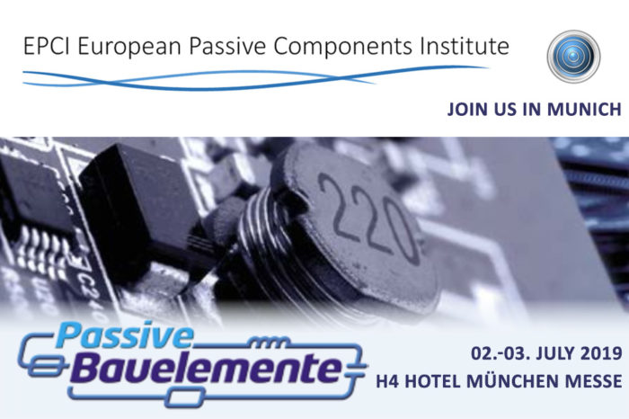 Capacitor Trends and Challenges Keynote by EPCI and TTI will be Presented During Passive Bauelemente 2019 Forum