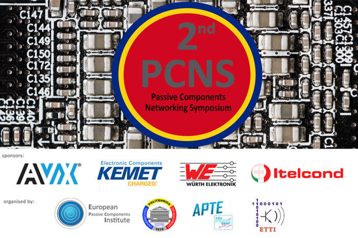 2nd PCNS Passive Components Networking Symposium Programme Released !
