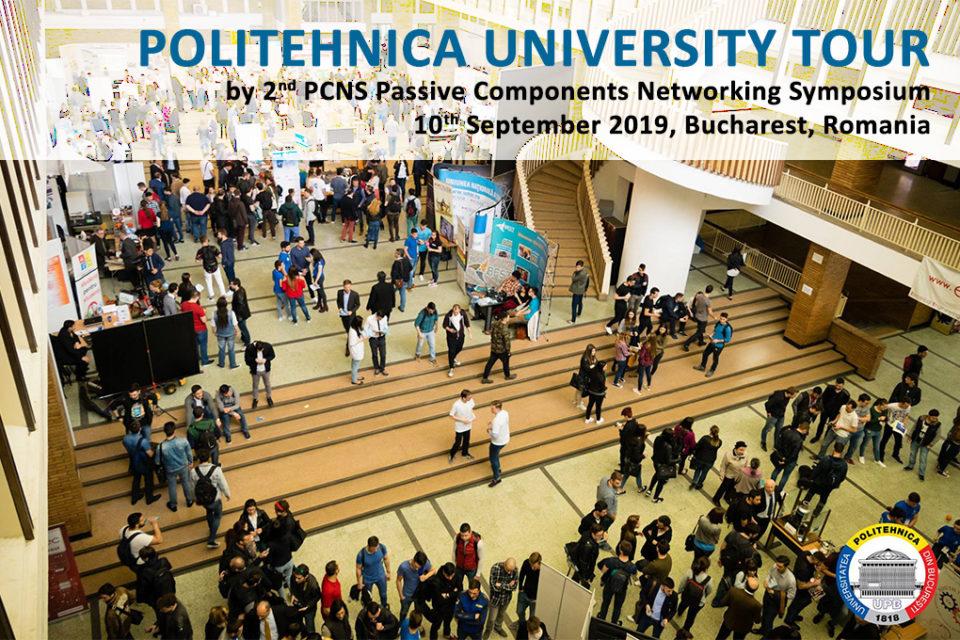 PCNS pre-event: Politehnica University Tour