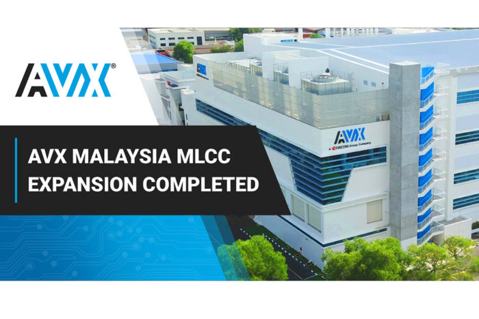 AVX Announces the Completion of Its Largest Global MLCC Manufacturing Facility