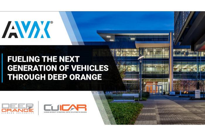 AVX Fuels Next Generation of Clemson Vehicle Prototyping Through Deep Orange