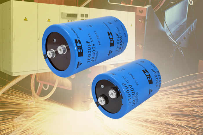 Vishay New Screw Terminal Aluminum Capacitors Offer 10 % Higher Capacitance and Better Ripple Current Handling Per Given Can Size