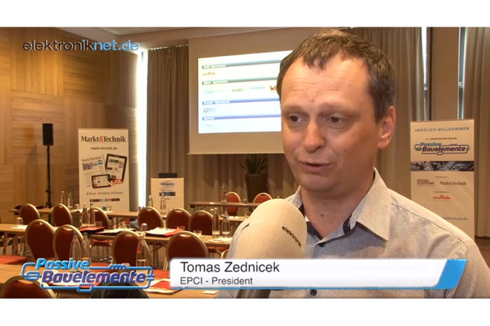 elektroniknet.de interview with Tomas Zednicek on capacitor trends