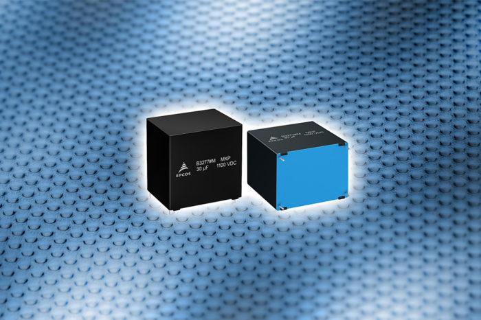 TDK Released Robust DC Link Film Capacitors