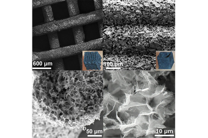 University of Manchester develops 2D material MXene ink for 3D print of supercapacitors