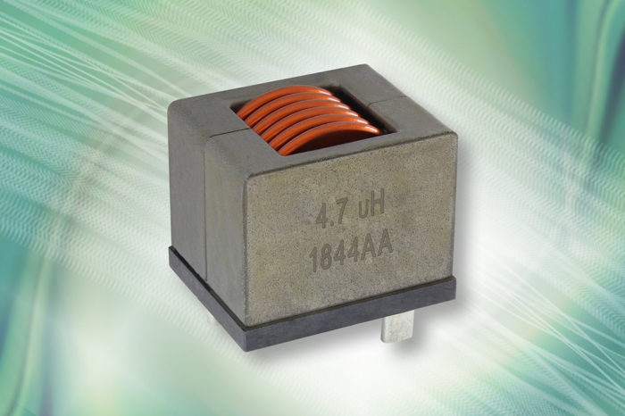 Vishay Edge-Wound Inductor Delivers Stable Inductance and Saturation at Temps to +180 °C and Current to 150 A
