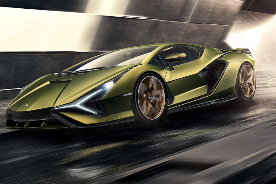 The Sián has arrived: the first supercapacitor-based hybrid V12 by Lamborghini