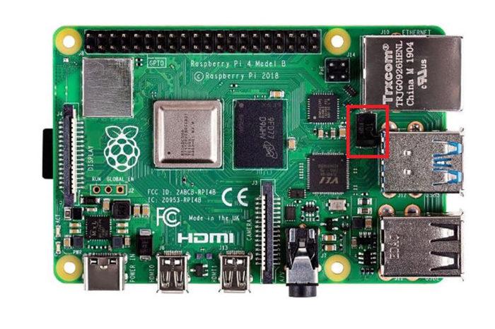 Most powerful Raspberry Pi ever replace MLCC to Panasonic polymer aluminium capacitors