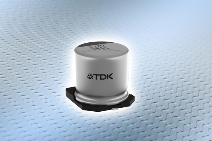 TDK introduces robust SMD design in hybrid polymer aluminum technology