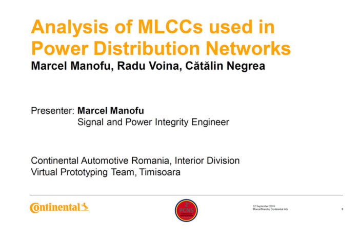 Analysis of Multi-Layer Ceramic Capacitors used in Power Distribution Networks