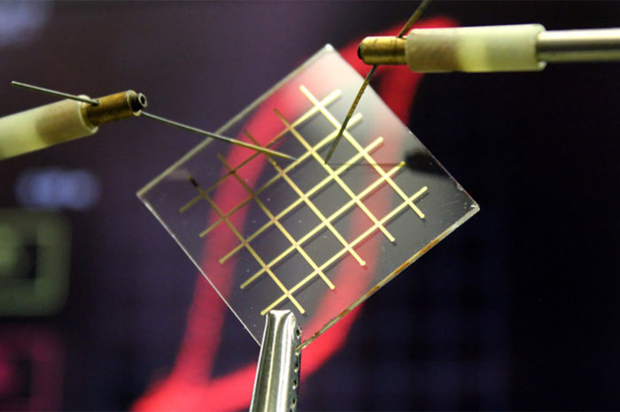 Nylon as a building block for transparent and flexible capacitors