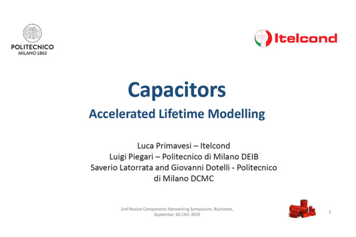 Aluminium Electrolytic Capacitors Accelerated Lifetime Modeling