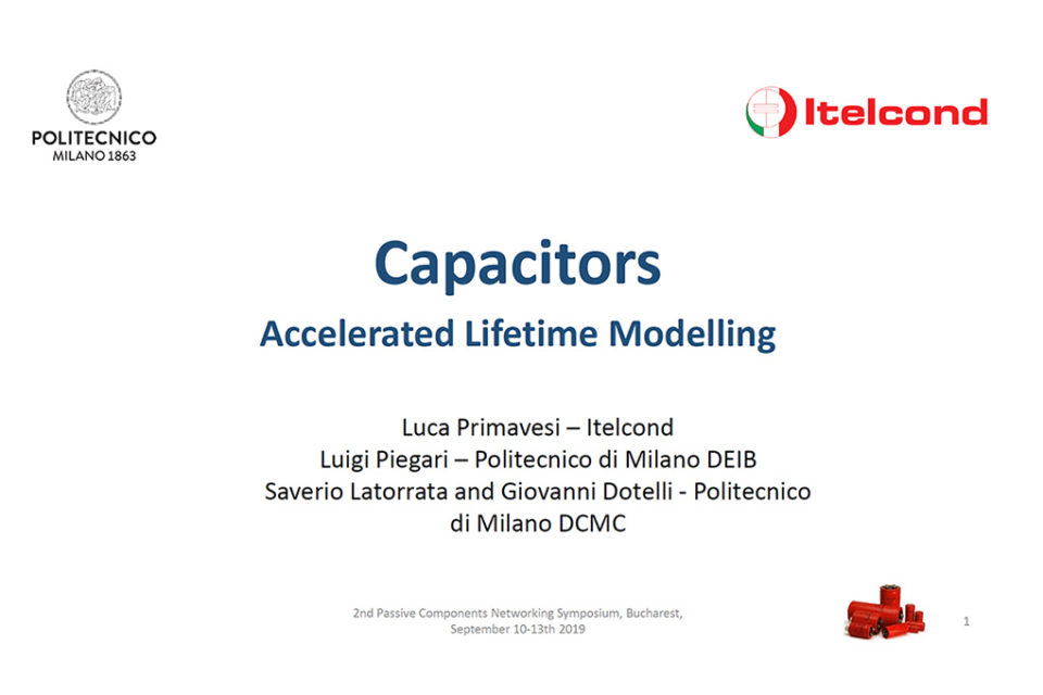 Aluminium Electrolytic Capacitors Accelerated Lifetime Modeling