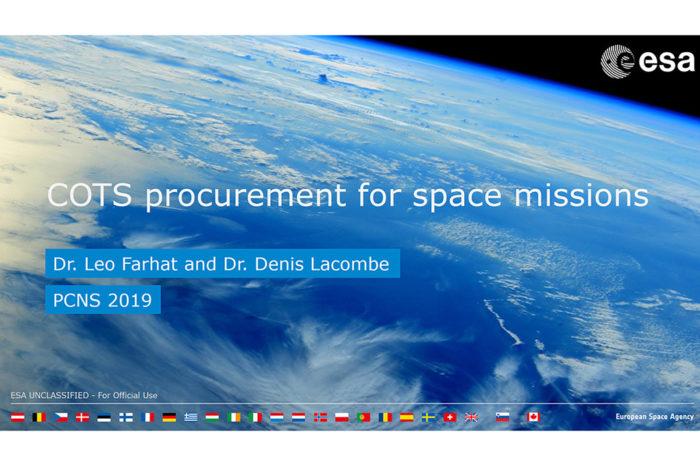 COTS procurement for space missions