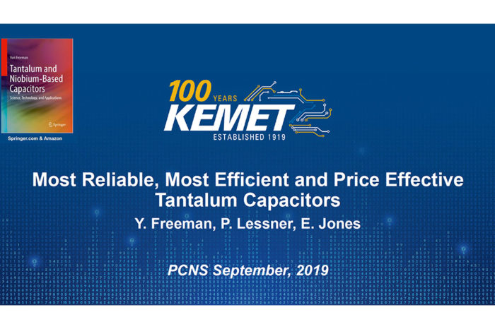 Most Reliable, Most Efficient and Price Effective Solid Tantalum Capacitors