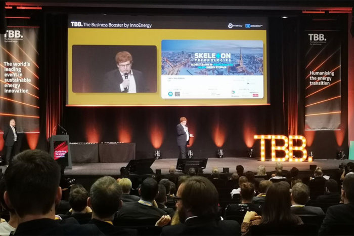 Skeleton Technologies' Ultracapacitor Chosen as Winner of Sustainable Solutions at TBB2019 in Paris